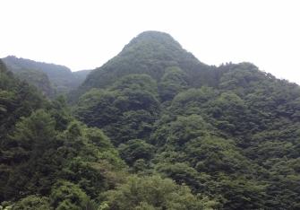 A mountain.